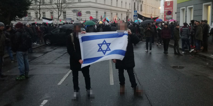 Waving+an+Israeli+Flag+Leads+to+Possible+Imprisonment